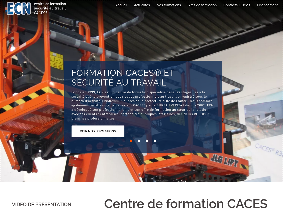 Formation CACES ECN-Formation